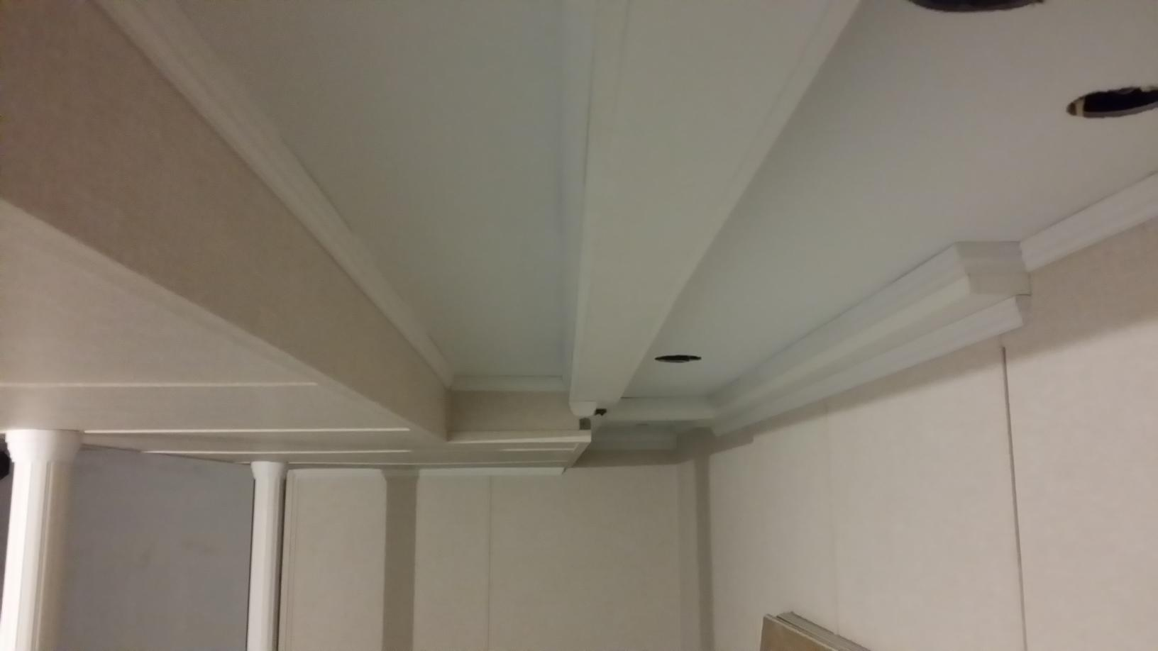 Easton, CT Ceiling Restoration and Painting - After Photo