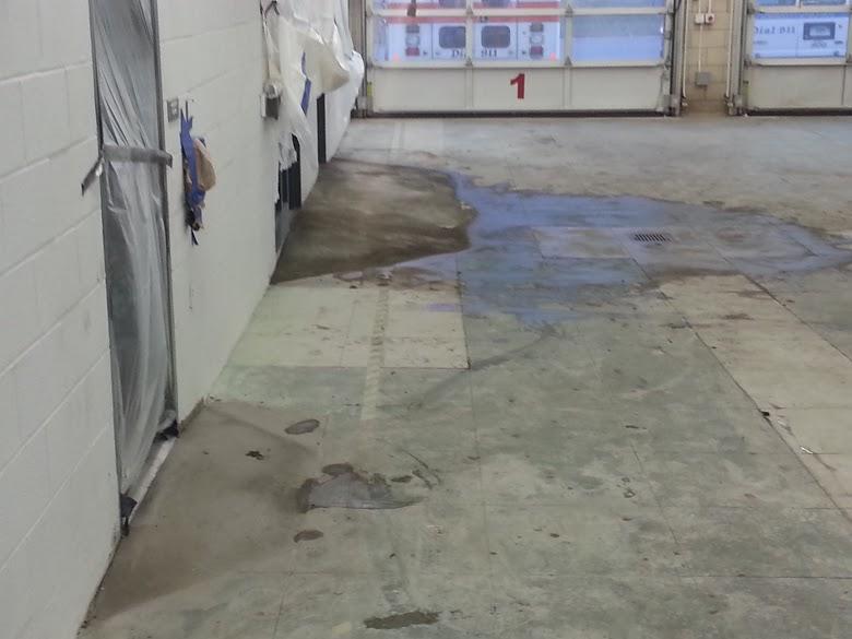 Stratford, CT Epoxy Flooring Installed - Before Photo