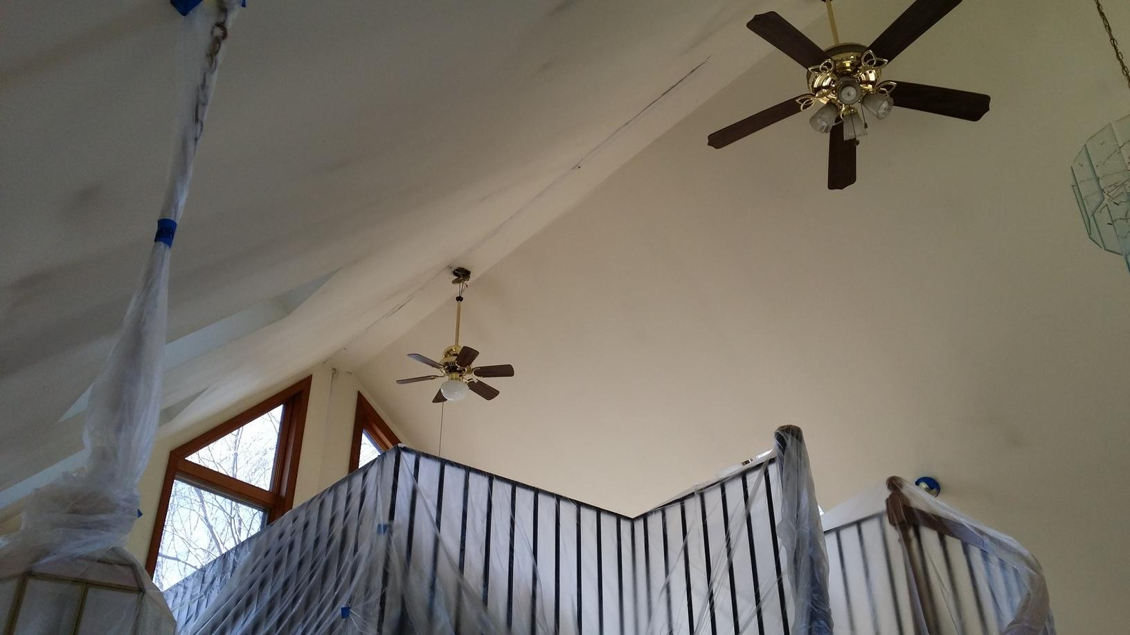Home Interior Painting job in Oxford - Before Photo