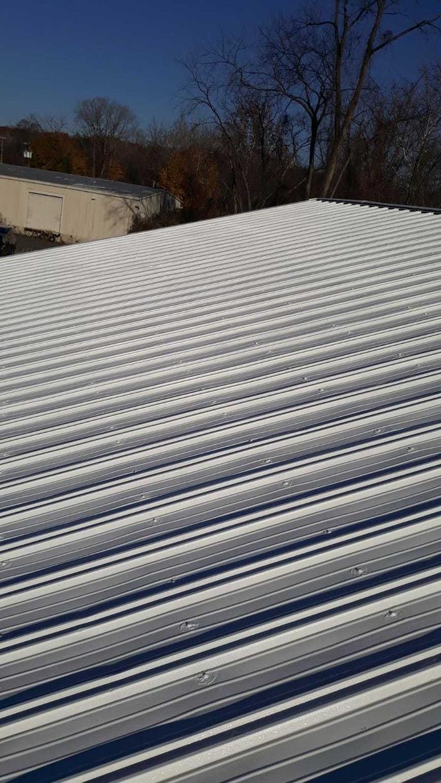 Brookfield Public Works Garage Roofing Restoration - After Photo