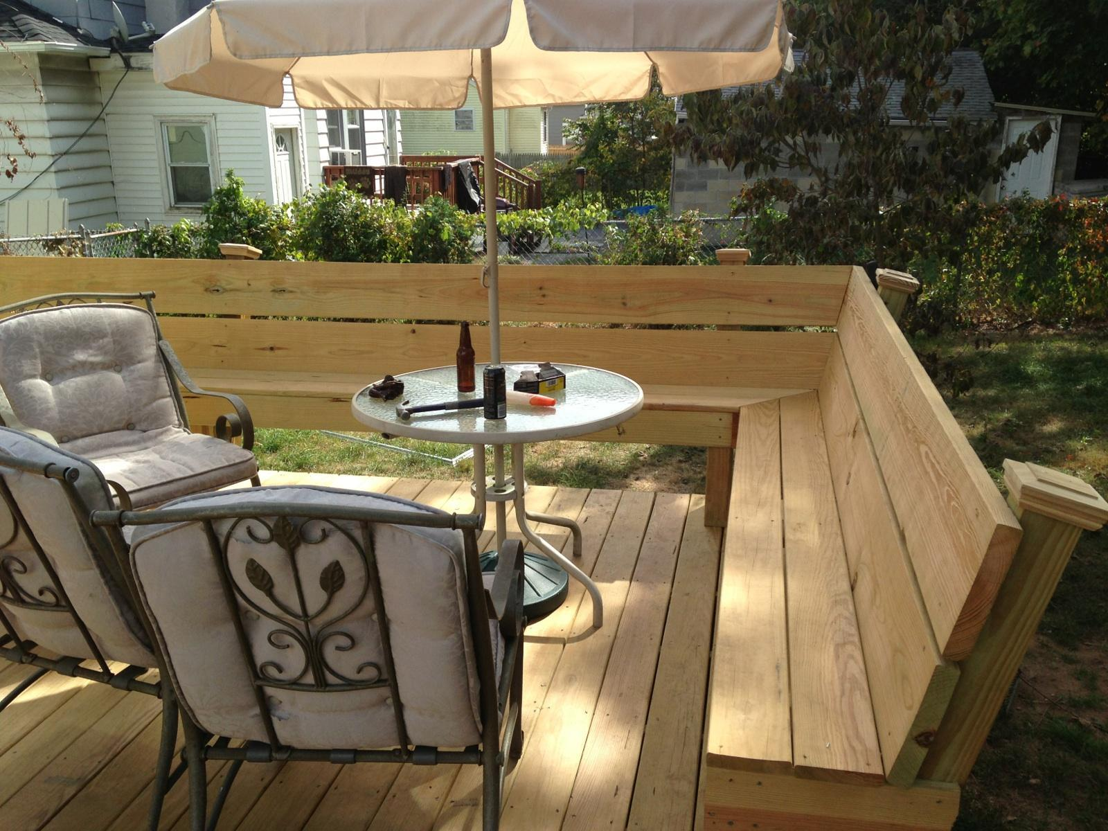 New Deck Construction in New Haven, CT - After Photo