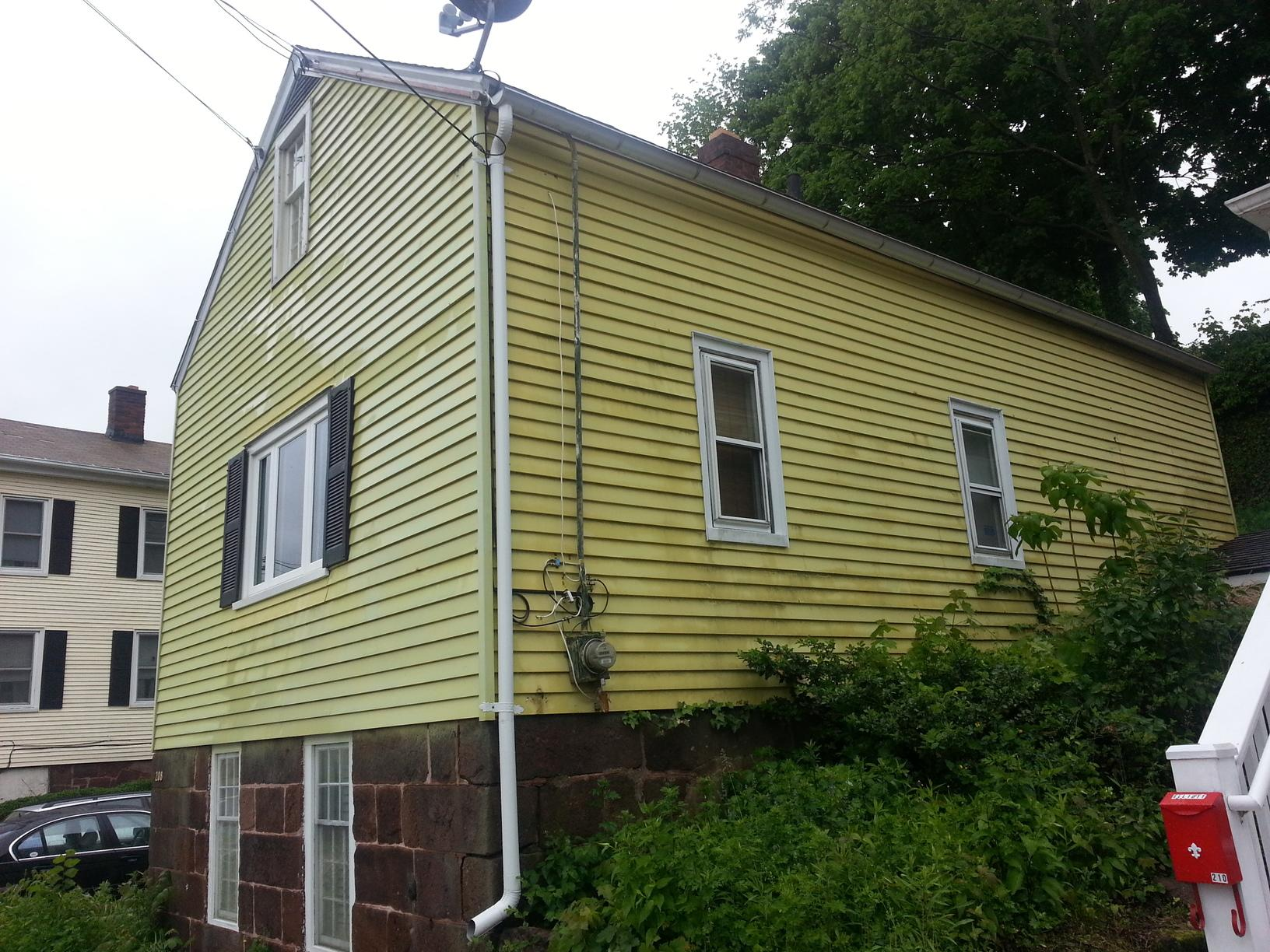 Home Exterior Painting in New Haven - Before Photo