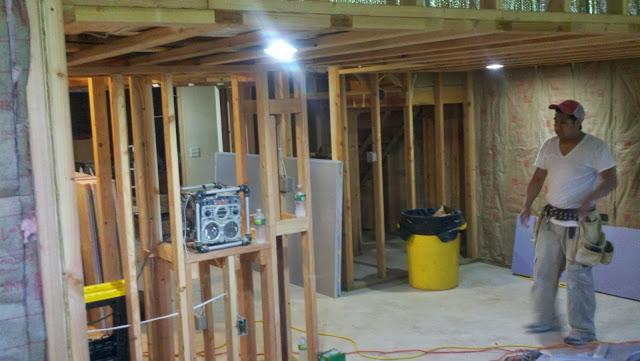 Middlebury, CT Basement Remodeling Project