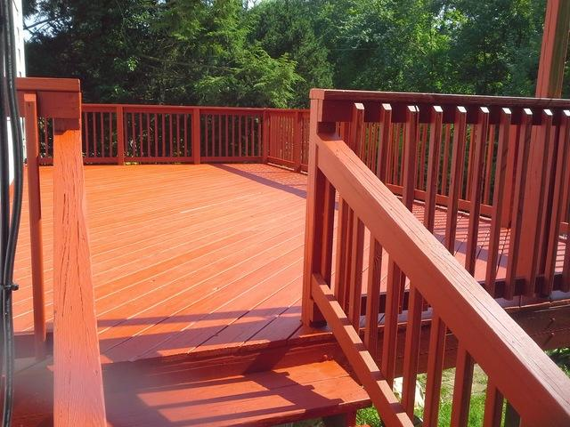 Ansonia, CT Deck Staining
