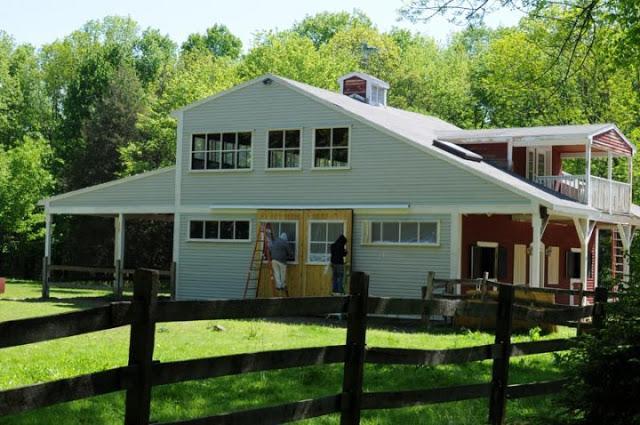Bethany Ct, Barn Exterior Paint Restoration