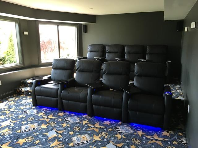 Home Theater Family Room Transformation
