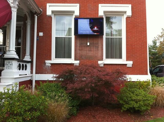 Howard K. Hill Funeral Home Signage  in New Haven, CT