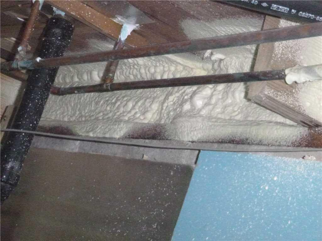 Spray Foaming Rim Joists in Queenstown, MD - After Photo