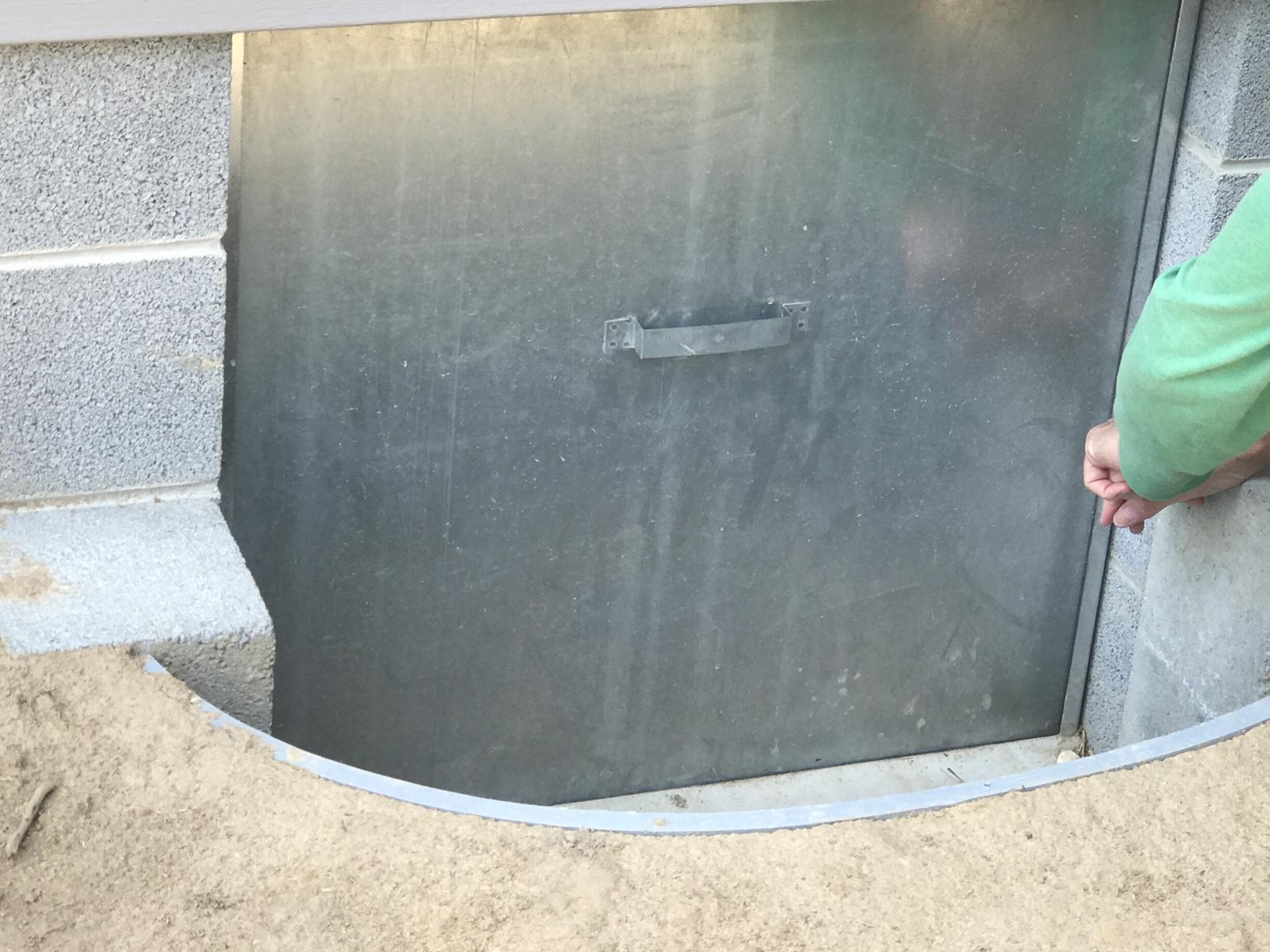 Reduce water from entering through crawlspace entrance in Felton, Delaware - Before Photo