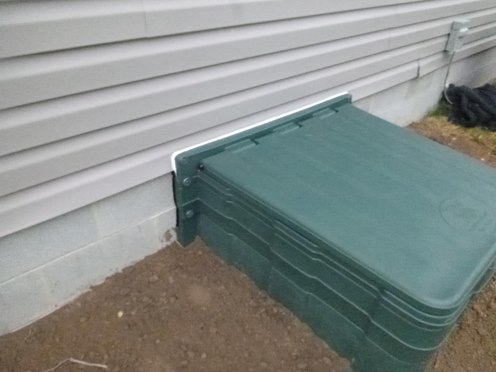 Reduce water from entering through crawlspace entrance in Felton, Delaware - After Photo