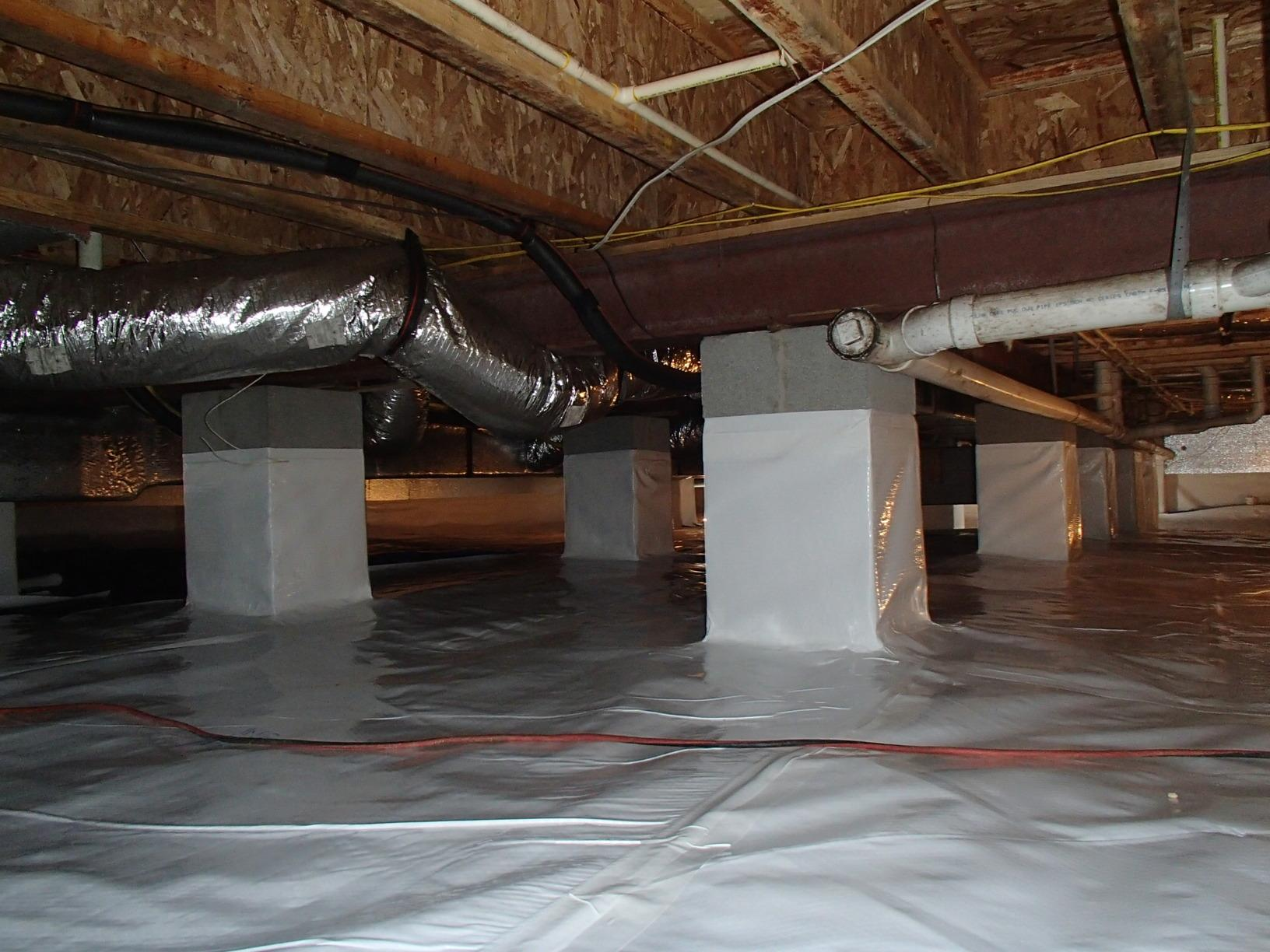 Reducing musty and odd odors in Centreville, Maryland - After Photo