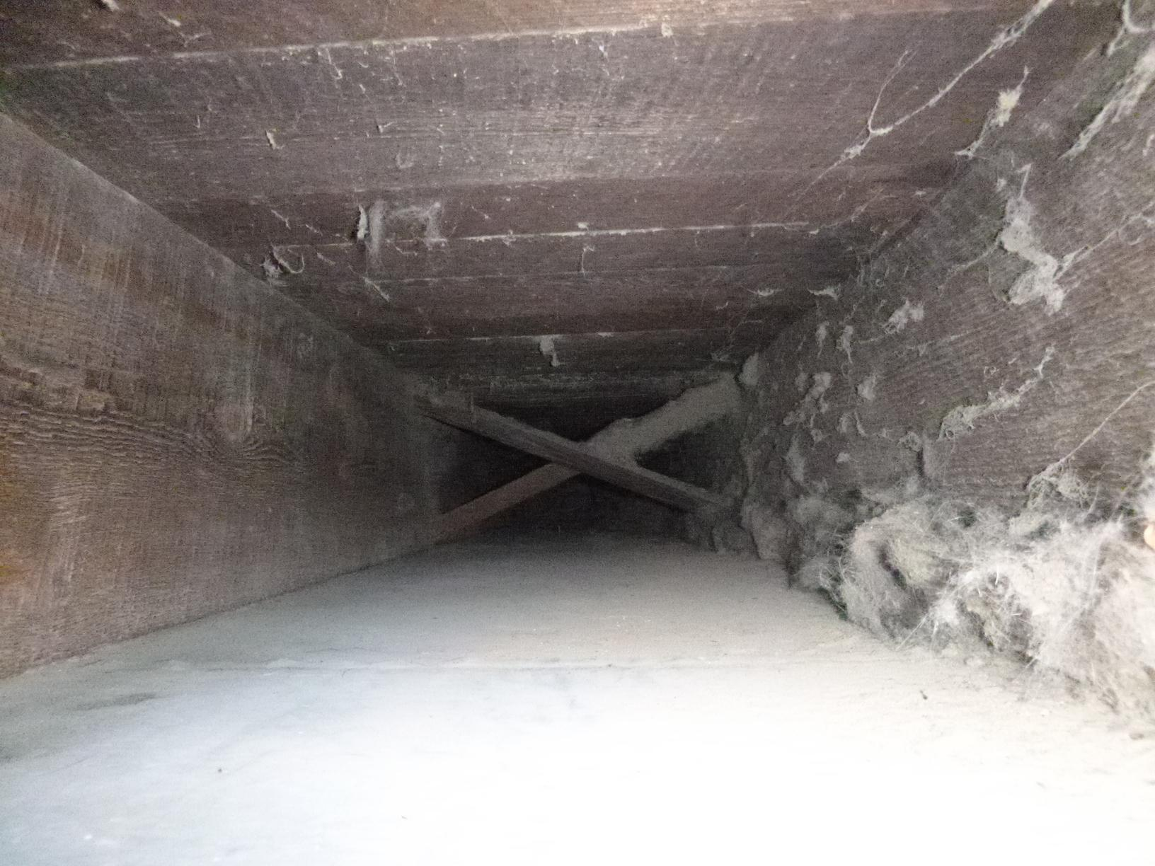 Duct Cleaning and Sealing in Wilmington, Delaware - Before Photo
