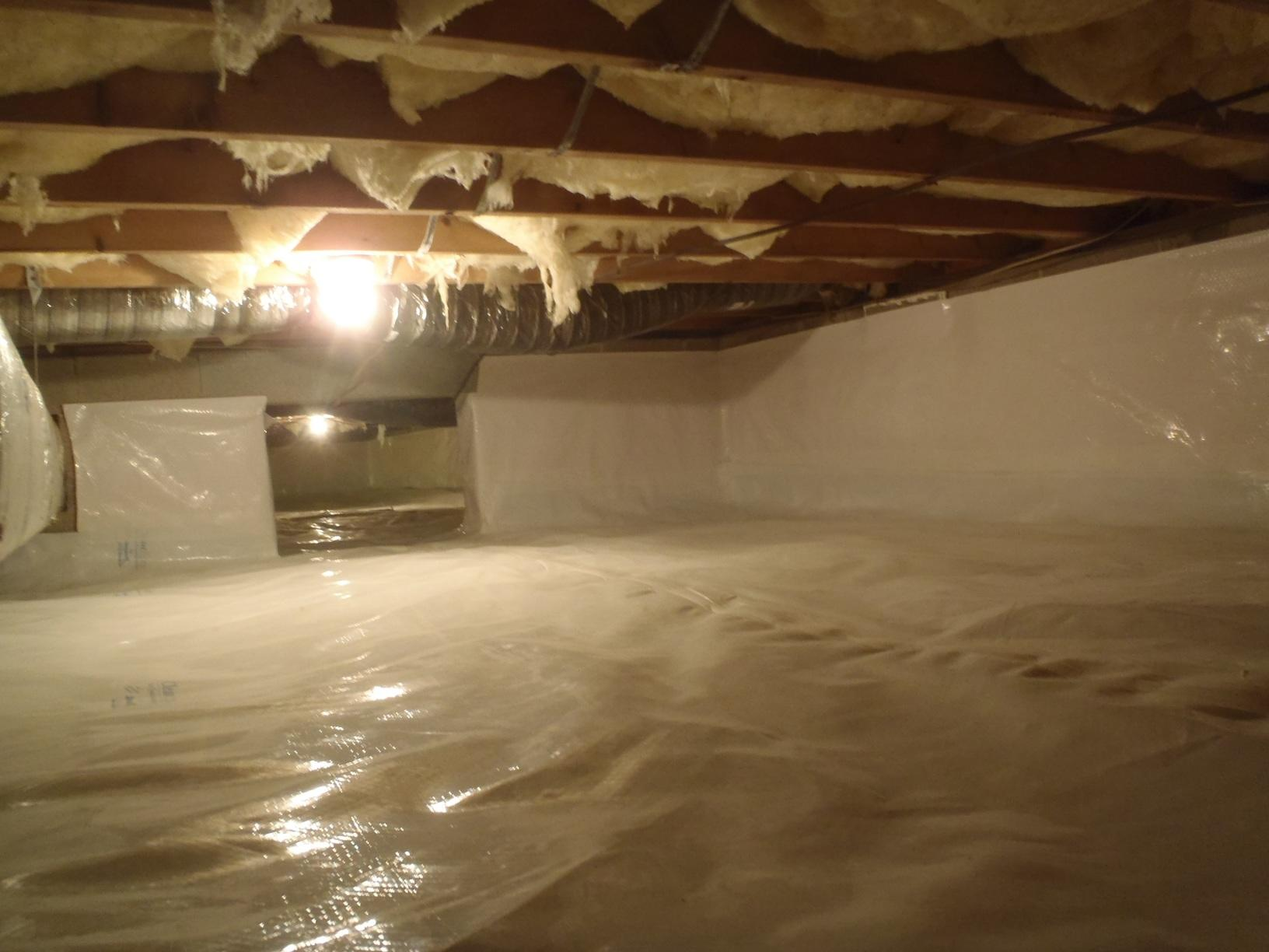 Crawl Space & Duct Cleaning in Centreville, MD. - After Photo