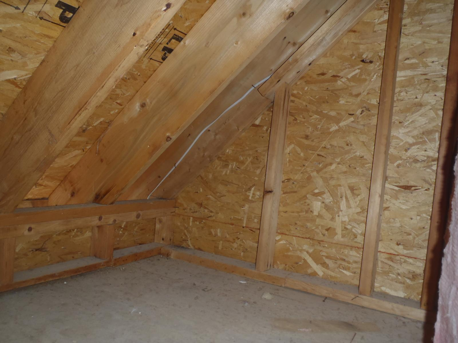 Air Sealing in Townsend, DE - Before Photo