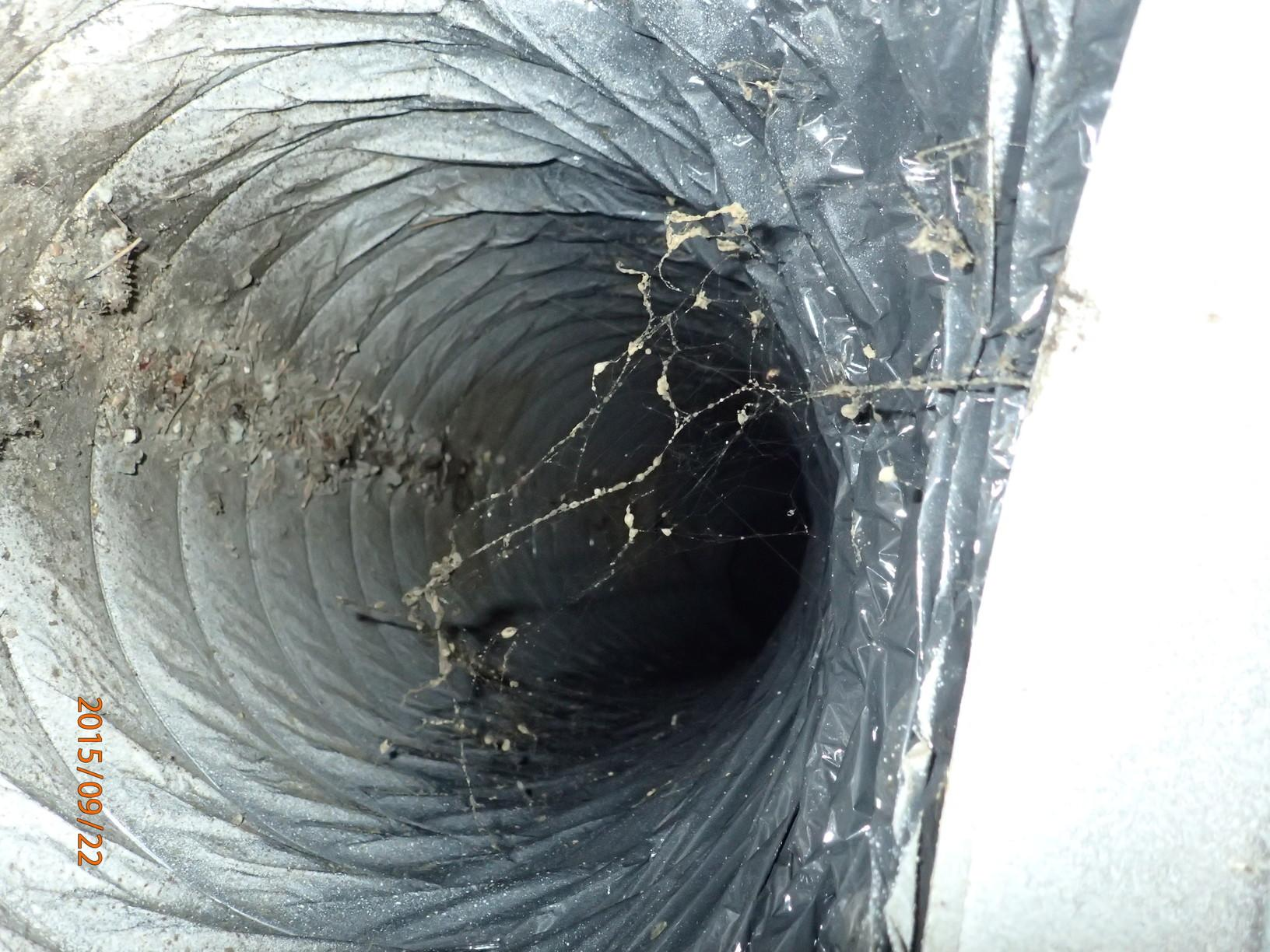 Duct Cleaning in Grasonville, MD - Before Photo
