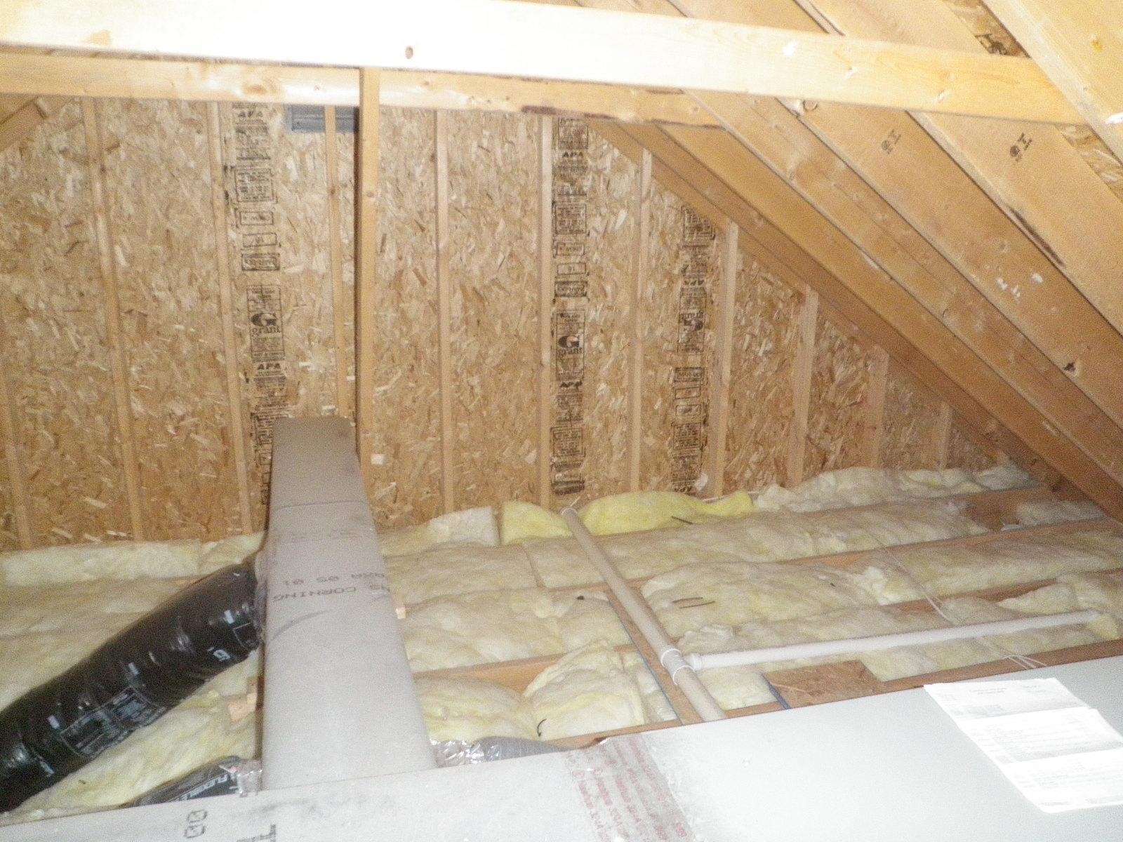 Make Your Attic Cooler on Delmarva - Before Photo