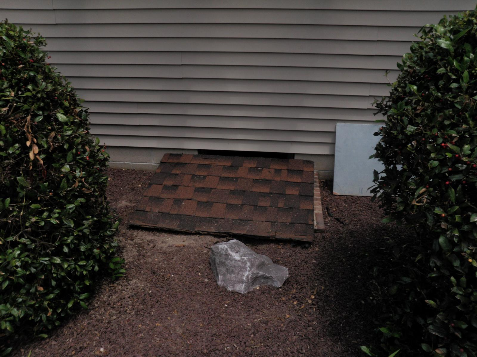 Seaford, Delaware Turtl Crawlspace Entrance System Install - Before Photo
