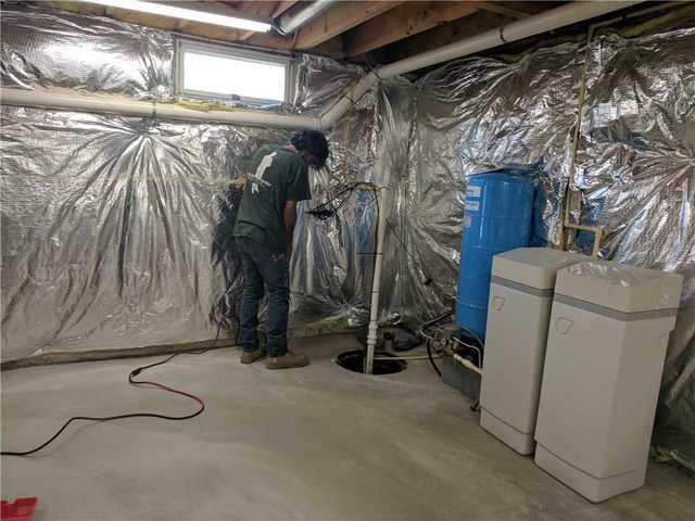 Radon Mitigation System installed in Rising Sun, Maryland