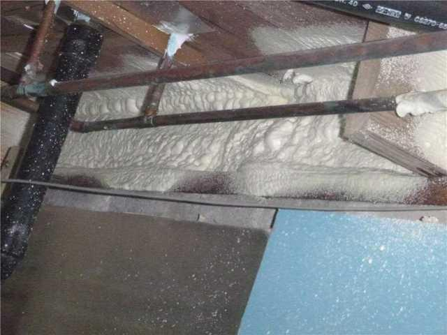 Spray Foaming Rim Joists in Queenstown, MD