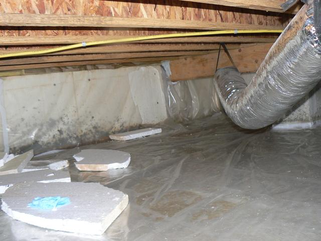 Crawlspace Encapsulation Helps Berlin, Maryland Home with Crawlspace Moisture