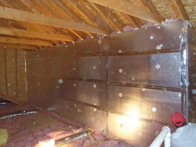 Attic Kneewall Insulation in Lewes Delaware