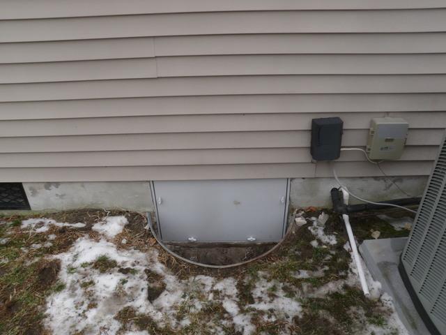 Crawlspace Entrance Door Allows for a More Comfortable Home in Georgetown, DE