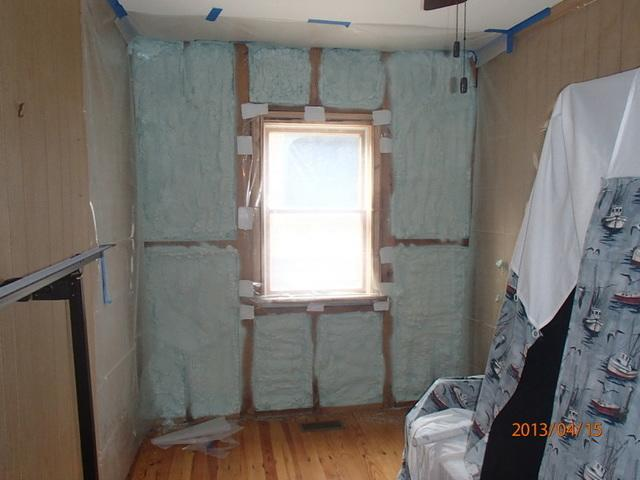 Spray Foam Wall Insulation in Delaware