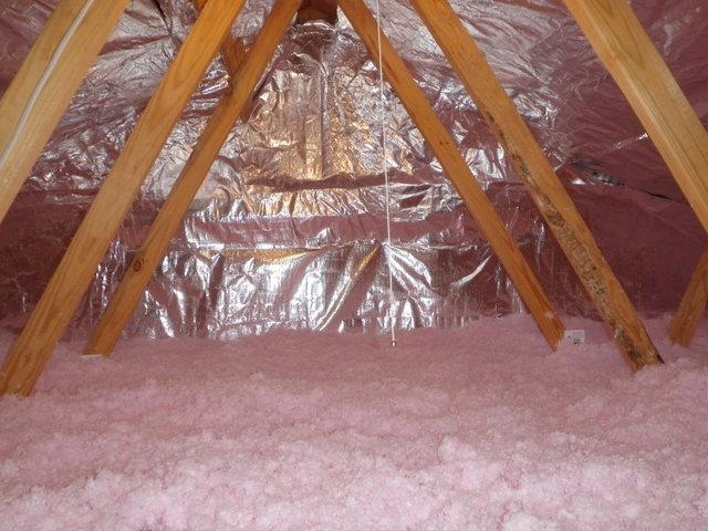 Blown Fiberglass Attic Insulation in Wilmington, DE