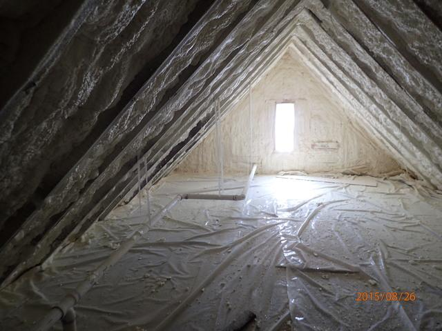 Creating a Conditioned Attic in Harrington, DE