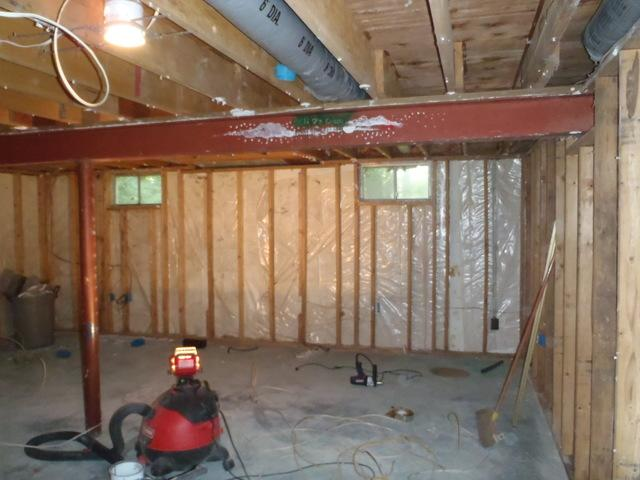 Spray Foam Insulation Installation in a Newark, DE Basement