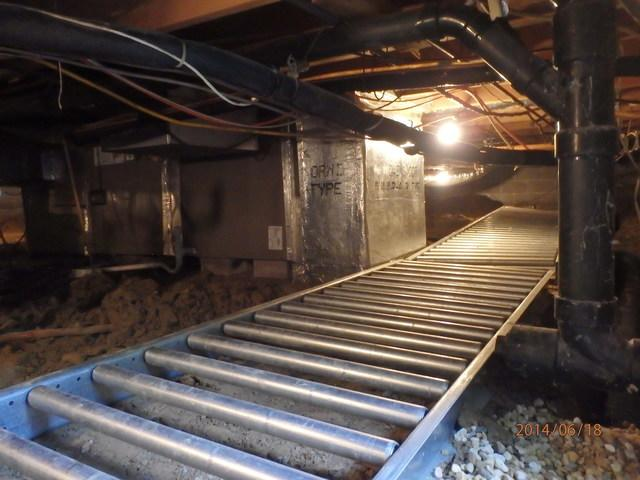 Crawl Space Encapsulation in Queenstown, MD
