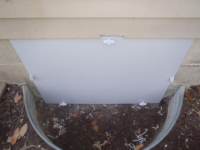 Salisbury Maryland Crawlspace Entrance Door