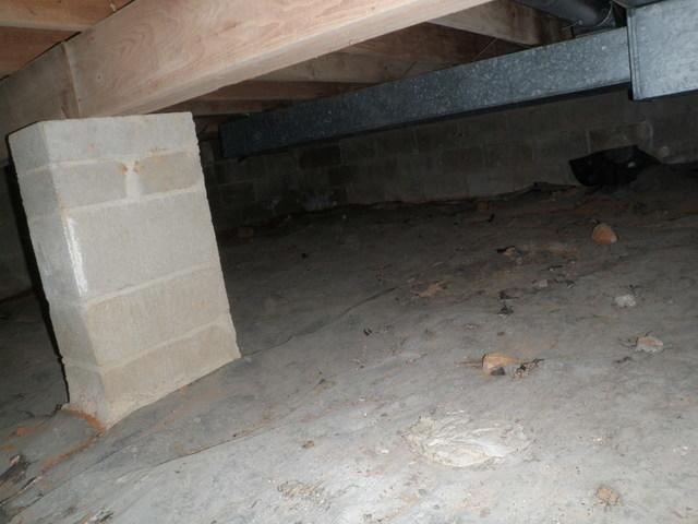 Half Slab and Half Nasty Crawlspace in Wilmington, Delaware