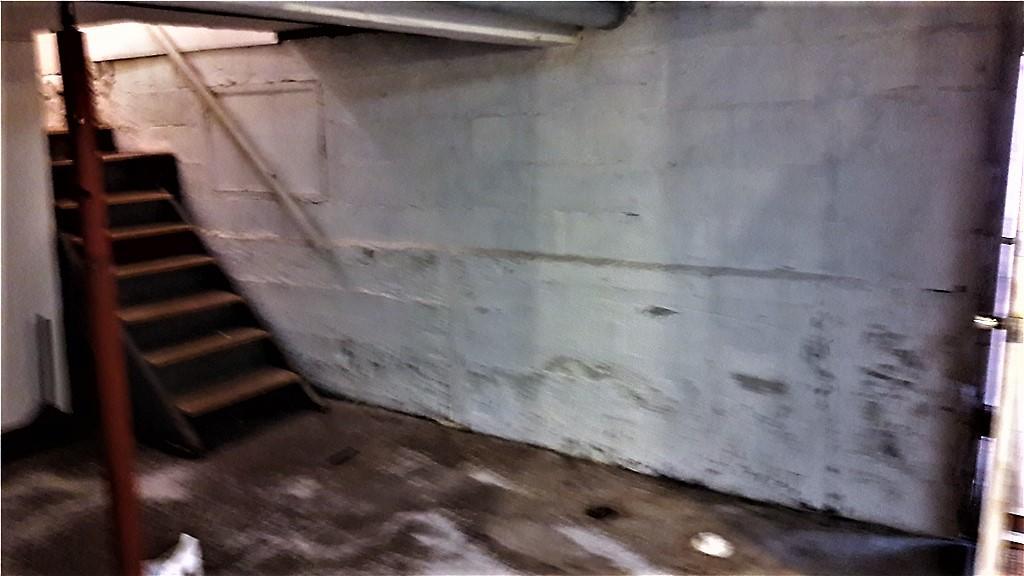 Basement Waterproofing in Menomonie, WI - Before Photo