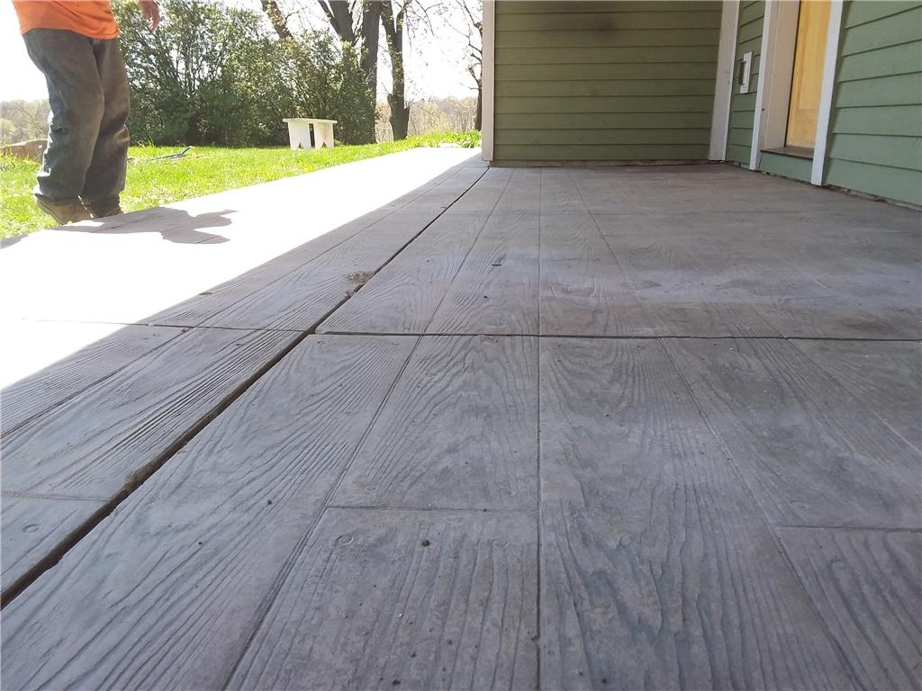 Leveling Concrete Patio in Victoria, Minnesota - After Photo