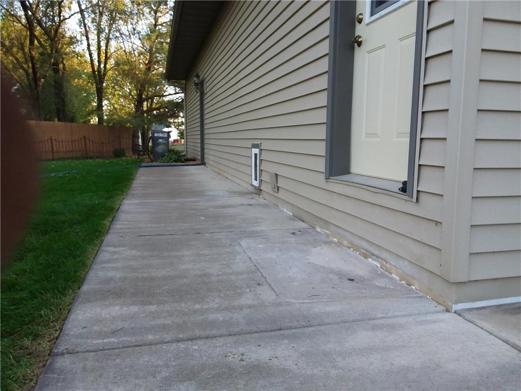 Lift & Level Uneven Exterior Concrete in Chippewa, WI - After Photo