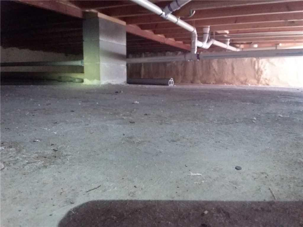 Crawl Space Insulation in Holyoke, MN. - After Photo