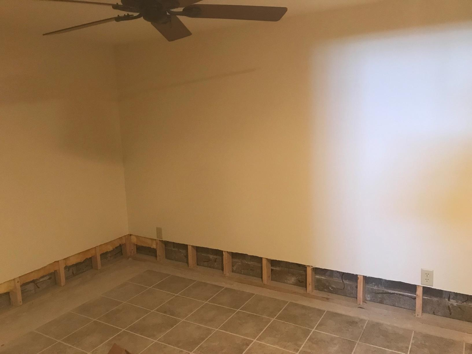 EverLast™ Finished Wall Restoration in Hayward, WI - Before Photo