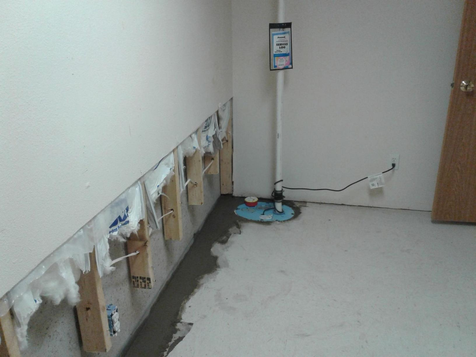 Basement Waterproofing Service in Chippewa Falls, WI - After Photo