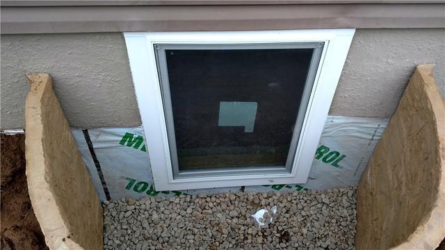 Egress Window Created for South Range, WI Basement