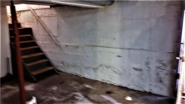 Basement Waterproofing in Menomonie, WI - Before Photo