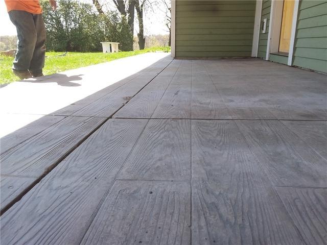 Leveling Concrete Patio in Victoria, Minnesota