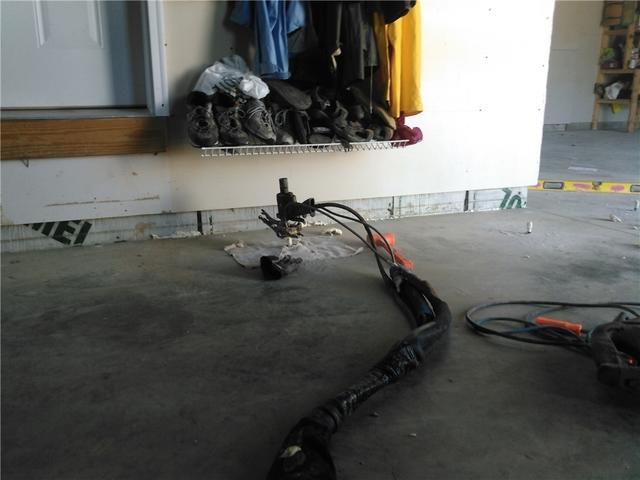 Leveled Garage Floor in Blackduck, MN