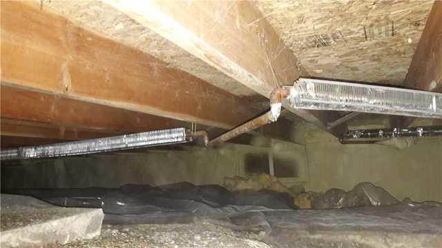 Ashland, WI crawlspace encapsulated. - Before Photo
