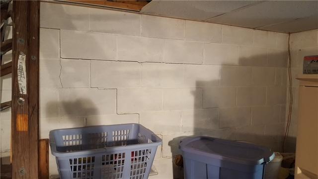 Birchwood, WI cabin walls stabilized