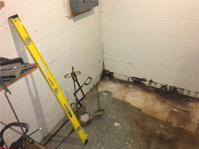 Duluth, MN basement waterproofed using WaterGuard