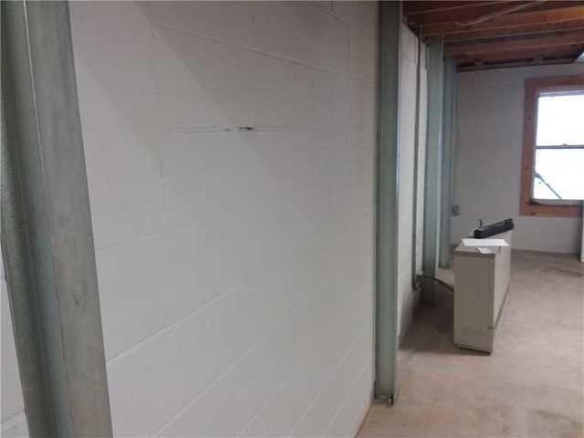 Wall Stabilization Repair in Birchwood, WI.