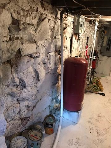 Basement Waterproofing Job in Hermantown, MN