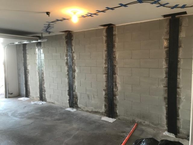 Wall Repair Project in Duluth, MN