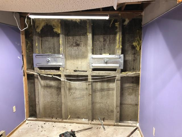 Failing Basement Wall Restored in Superior, WI